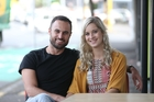 Can Jordan Mauger and Fleur Verhoeven convert their fledgling relationship into a reality TV-free romance? Picture / Doug Sherring