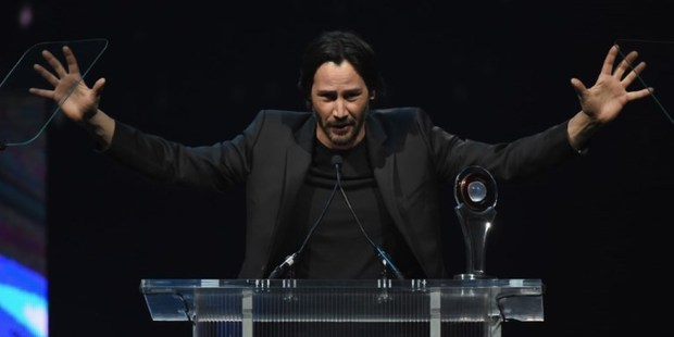 Actor Keanu Reeves received a creepy letter from a fan turned stalker. Photo / AFP