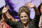 Brazil's President Dilma Rousseff in Brasilia, Brazil. Photo / AP