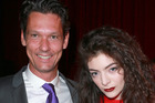 Scott MacLachlan and Lorde in 2013. Photo / Norrie Montgomery