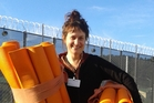 Yoga Education in Prisons Trust director Adhyatma outside Rimutaka Prison. Photo / Supplied
