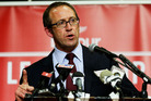 Jamie asks Andrew Little if he's had to eat humble pie over foreign ownership of New Zealand houses. Photo / Getty