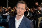 British actor James McAvoy shaved his head for new X-men movie. Photo / AP