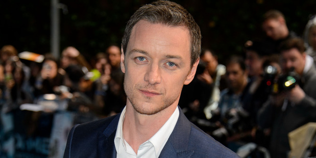 Loading British actor James McAvoy shaved his head for new X-men movie. Photo / AP