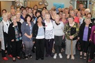 CELEBRATION: Staff from the first decade that attended the afternoon tea on Saturday. PHOTO: SUPPLIED