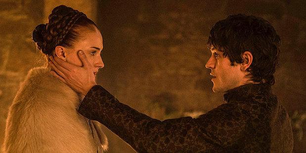 Sansa Stark and Ramsey Bolton. Photo / HBO