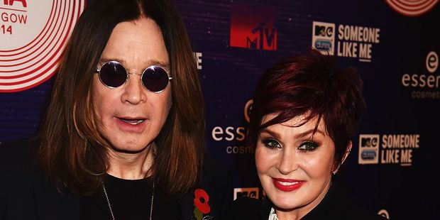 Ozzy Osbourne and Sharon Osbourne are rumored to have split up due to Ozzy having an affair. Photo / Getty Images