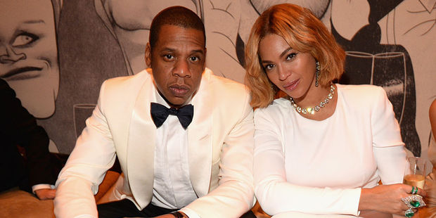 Loading Jay Z and Beyonce. Photo / Getty Images