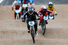 Sarah Walker competes at the 2015 UCI BMX World Championships in Belgium. Photo / Getty Images