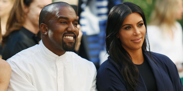 Recording artist Kanye West plans a suprise on Mother's Day for TV personality Kim Kardashian. Photo / Getty Images