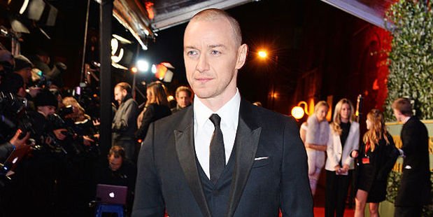 Loading James McAvoy was forced to chop off his hair for his role in 'X-Men: Apocalypse'. Photo / Getty Images