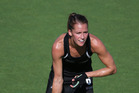 Petrea Webster in action for the Black Sticks. Photo / Getty Images