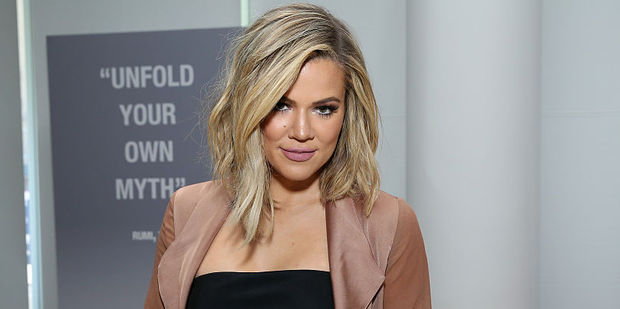 Khloe Kardashian explains why her knees look different. Photo / Getty Images