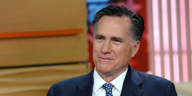 Former Governor Mitt Romney. Photo / Getty Images