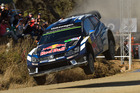 Sebastien Ogier during Day Two of the WRC Mexico. Photo / Getty Images