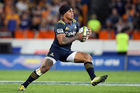 Malakai Fekitoa on the attack for the Highlanders. Photo / Getty