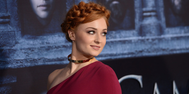 Loading Sophie Turner along with other cast members are planning to get matching tattoos. Photo / Getty Images