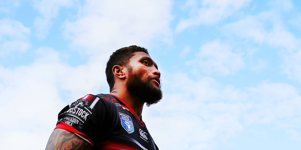 Loading Manu Vatuvei has spoken of regret and remorse. Photo / Getty Images