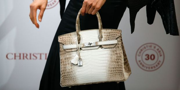 With no waiting list, no ordering system and no way of knowing when the next bag will be available, the Birkin is so elusive that only high-profile people have a hope of snapping one up. Photo / Getty