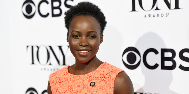 Actress Lupita Nyong'o is in talks to star in the upcoming Black Panther Marvel movie. Photo / Getty Images