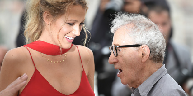 Blake Lively and director Woody Allen at the 69th Cannes Film Festival. Photo / Getty Images