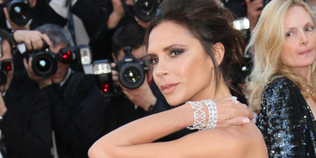 Victoria Beckham claims cutting out gluten is how she keeps her trim figure. Photo / Getty Images