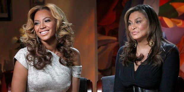 Beyonce with her mother Tina Knowles. Photo / Getty Images