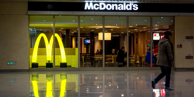 McDonald's CEO Steve Easterbrook reportedly told a British newspaper back in 2006 that he ate a McDonald's meal every day. Photo / Getty Images