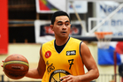 Taranaki player Houston O`Riley during an NBL Basketball game against Nelson. Photo / Photosport