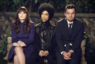 Prince featured in a scene from the TV New Girl.