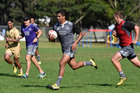 All Blacks Sevens training at Blake Park. Photo / George Novak