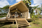 Ikurangi Eco Retreat offers a luxury glamping experience.