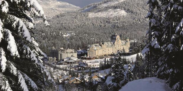 The Fairmont Chateau Whistler, Canada.