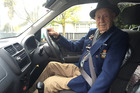 New Zealand's oldest driver, 103-year-old Bill Mitchell. Photo / Supplied