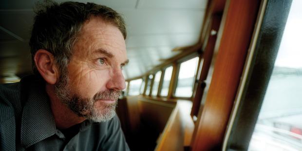 Malcolm Clark on board RV Tangaroa. Photo / Dave Allen