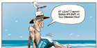 View: Cartoon: Key's backside covered