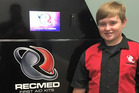 Taylor Rosenthal is a 14-year-old high-school student from Alabama and is the creator of RecMed, a vending machine that dispenses first aid products. Photo / Supplied