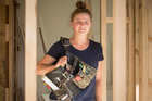 Qualified carpenter Kate Ross, 28, said that aside from a couple of