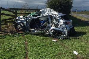 Fatal crash near Matamata. Photo / Belinda Feek