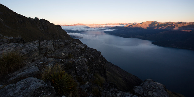The view from Cecil Peak in Queenstown. Photo / Guy Coombes