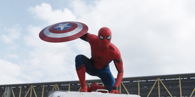 Marvel's Captain America: Civil War even introduces the character Spider-Man/Peter Parker into their movie. Photo / Marvel