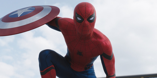 Loading Spider-Man/Peter Parker, played by Tom Holland, makes his first appearance in Marvel's Captain America: Civil War.
