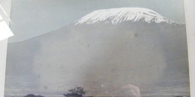 Mt Kilimanjaro, Kenya, in the late 1950s. Photo / Doug Bone