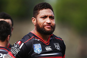 Manu Vatuvei of the Warriors. Photo / Getty Images
