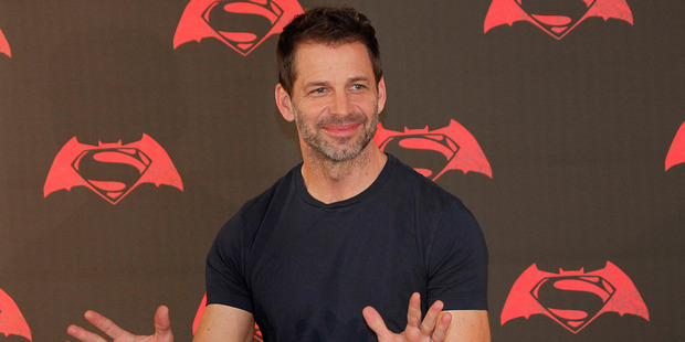 Zack Snyder will also direct Justice League: Part One. Photo / AP