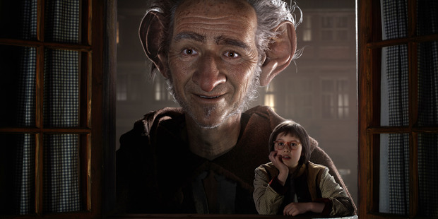 Steven Spielberg's The BFG, featuring Mark Rylance. Photo / AP
