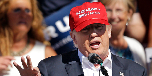 Republican presidential candidate Donald Trump says he's allowed to be flexible on policies. Photo / AP
