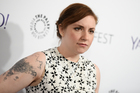 Lena Dunham has paid tribute after the death of her Girls co-star, Nick Lashaway. Photo / AP