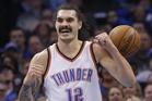 Oklahoma City Thunder center Steven Adams. Photo / AP.