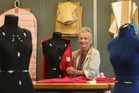 82-year-old Judith Phillips organised the very first fashion show at Tauranga Girls' College 30 years ago and she is still working at college part-time. Photo/John Borren
